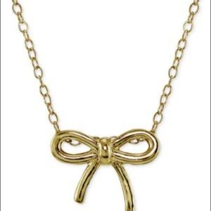 Giani Bernini 18k Gold over Sterling Bow Necklace